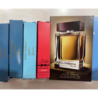 ドルチェアンドガッバーナ(DOLCE&GABBANA)のドルチェ&ガッバーナ 香水 サンプル(ユニセックス)