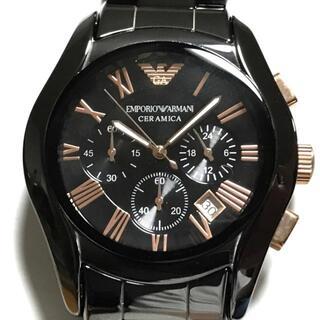 エンポリオアルマーニ(Emporio Armani)のアルマーニ 腕時計美品  セラミカ AR-1410(その他)