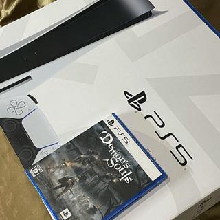 PlayStation - 美品 PS5 プレイステーション5 ディスク読込モデル デモンズソウルセット