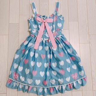 Angelic Pretty - Angelic Pretty Dolly Heart jsk リング ネックレス