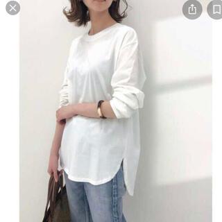 イエナ(IENA)のイエナ ラウンドテールロングTシャツ(Tシャツ(長袖/七分))
