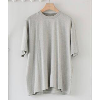 COMOLI - 美品 COMOLI 21ss 空紡天竺 半袖クルー Tシャツ AURALEE