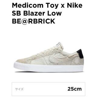 ナイキ(NIKE)のMedicomToy xNikeSB Blazer Low BE@RBRICK(スニーカー)
