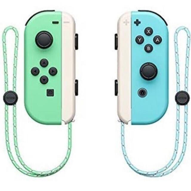 Nintendo Switch(ニンテンドースイッチ)のNintendo Switch Joy-Con あつまれ どうぶつの森 エンタメ/ホビーのゲームソフト/ゲーム機本体(家庭用ゲーム機本体)の商品写真