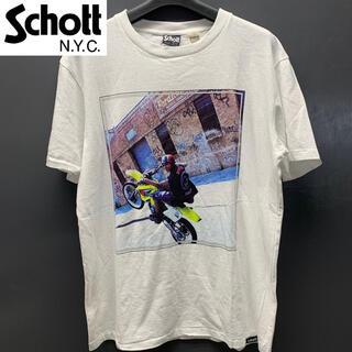 schott - レア【新品タグ付き】Schott×Janette Beckman フォトTシャツ