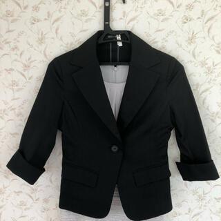 ミッシュマッシュ(MISCH MASCH)のテーラードジャケット スーツ ブラック(テーラードジャケット)