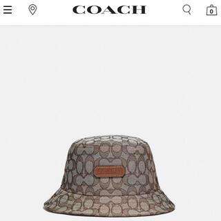 コーチ(COACH)のcoach シグネチャーバケットハット(ハット)