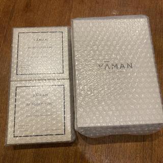 ヤーマン(YA-MAN)の新品!ヤーマン RF美顔器 フォトプラス ハイパー & 専用パッド2箱(フェイスケア/美顔器)