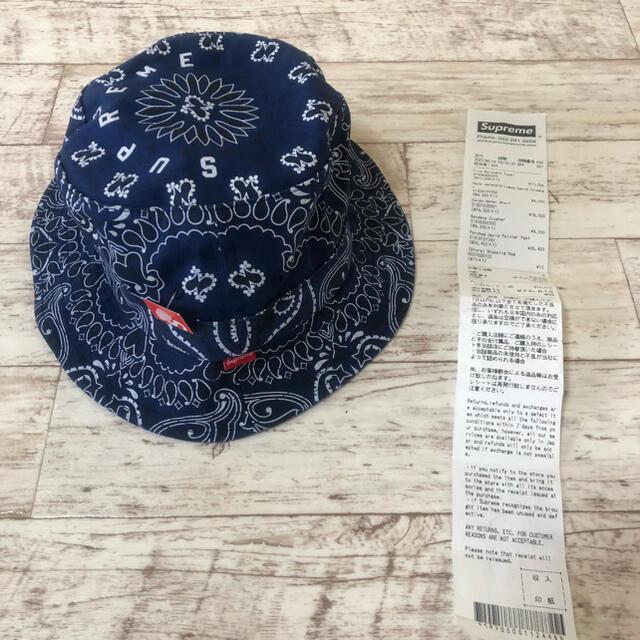 Supreme(シュプリーム)のS/Mサイズ  Supreme  Bandana Crusher メンズの帽子(ハット)の商品写真