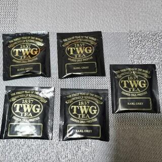 TWG アールグレイ 紅茶 ティーバッグ シンガポール EARL GREY  (茶)