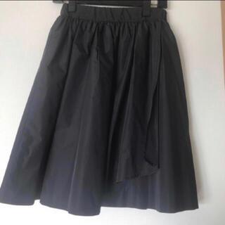 プールスタジオ(pool studio)の日本製 プールスタジオ スカート 黒(ひざ丈スカート)