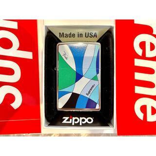 Supreme - Supreme®/Emilio Pucci® Zippo® Blue 即発送