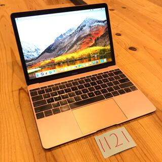 マック(Mac (Apple))の格安!MacBook retina 12インチ early2016(ノートPC)