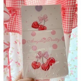 Angelic Pretty - angelic pretty Wrapping Cherry タイツ シロ