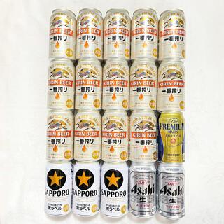 キリン - 一番搾り プレミアムモルツ 黒ラベル スーパードライ 生ビール 20本