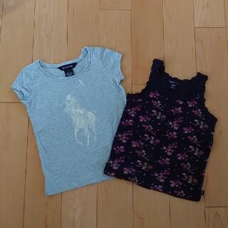 ラルフローレン(Ralph Lauren)のラルフローレン半袖Tシャツgapタンクトップ2枚セット110cm女の子(Tシャツ/カットソー)