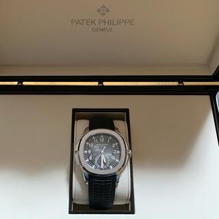 PATEK PHILIPPE - 美品 パテックフィリップ アクアノート トラベルタイム 5164A-001