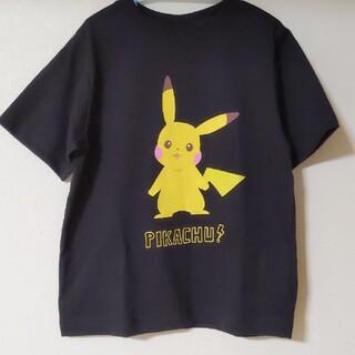 GU - GU ポケモンTシャツ 130cm ブラック