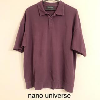 ナノユニバース(nano・universe)のnano universe 半袖ポロシャツ(ポロシャツ)