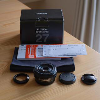 富士フイルム - FUJIFILM xf27mm f2.8 ブラック