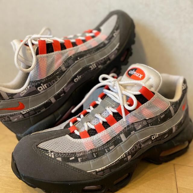 NIKE(ナイキ)のNIKE/airmax95/atmos限定/27.5/箱&レシート無し特価!美品 メンズの靴/シューズ(スニーカー)の商品写真