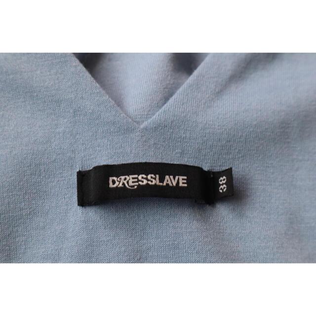 DRESSLAVE(ドレスレイブ)のドレスレイ dresslave  オールインワン アイスブルー レディースのパンツ(オールインワン)の商品写真