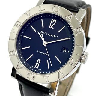 ブルガリ(BVLGARI)のブルガリ BB38SL デイト ブルガリブルガリ メンズ腕時計 シルバー(腕時計(アナログ))