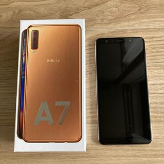 Galaxy - Galaxy A7 ゴールド SM-A750C