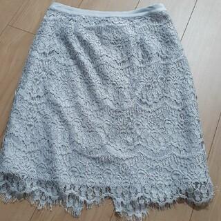 アルシーヴ(archives)のARCHIVES レーススカート(ひざ丈スカート)