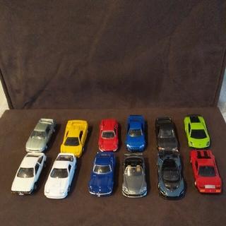 トミカプレミアムセット12台(ミニカー)