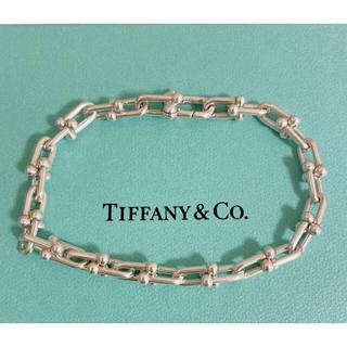 Tiffany & Co. - 【美品】ティファニー ハードウェアリンクブレスレット