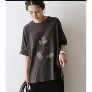 FRAMeWORK - フレームワーク  mickey BIG tシャツ 難あり