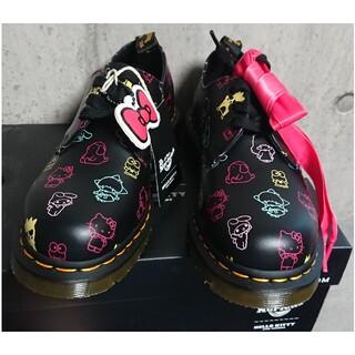 ドクターマーチン(Dr.Martens)のレア!(24cm)1461 ハローキティ 3ホール シューズ  レアコラボ(ローファー/革靴)