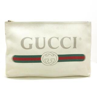 グッチ(Gucci)のグッチ クラッチバッグ グッチプリント(クラッチバッグ)