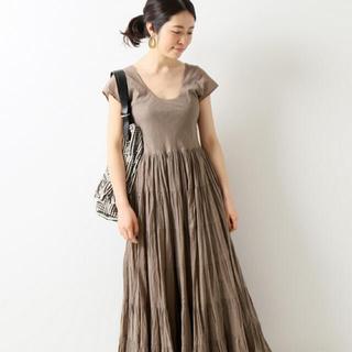 イエナ(IENA)のMARIHA 草原の虹のドレス ショートスリーブワンピース(ロングワンピース/マキシワンピース)
