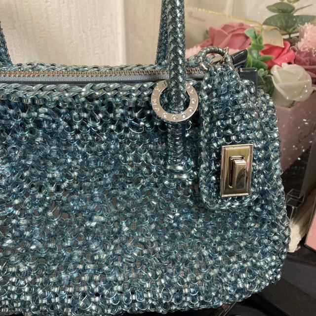 ANTEPRIMA(アンテプリマ)の夏カラー美品🌸アンテプリマ🌸ティーラ🌸斜め掛け2way レディースのバッグ(ショルダーバッグ)の商品写真