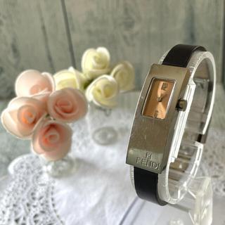 フェンディ(FENDI)の【動作OK】FENDI フェンディ 腕時計 3300L シルバー レディース(腕時計)