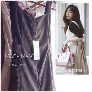 MISCH MASCH - 新品 ミッシュマッシュ*2020 田中みな実着用 コーデュロイジャンパースカート