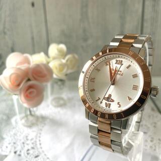 ヴィヴィアンウエストウッド(Vivienne Westwood)の【電池交換済み】ヴィヴィアン 腕時計 ブルームズベリー ゴールド(腕時計)