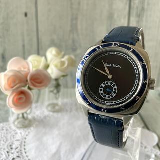 ポールスミス(Paul Smith)の【希少】Paul Smith ポールスミス 腕時計 1995 ブルー 復刻版(腕時計(アナログ))