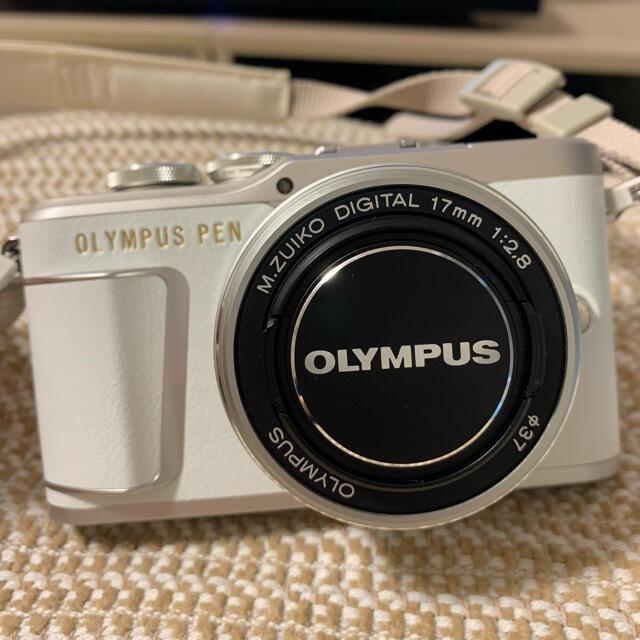 OLYMPUS(オリンパス)のWi-Fi搭載ミラーレスOLYMPUSオリンパスPEN E-PL9 スマホ/家電/カメラのカメラ(ミラーレス一眼)の商品写真