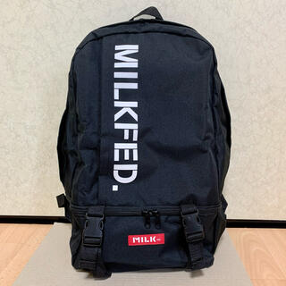 MILKFED. - 【新品】MILKFED. 文字ロゴ 男女兼用 BIG バックパック リュック