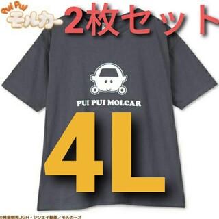 しまむら - モルカー レディース 4L 2枚セット