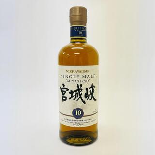 ニッカウヰスキー - 宮城峡 10年 シングルモルト ウイスキー