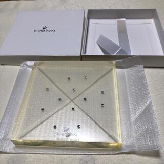 スワロフスキー(SWAROVSKI)のスワロフスキーSWAROVSKI ディスプレイ置物 トレイ 皿(置物)