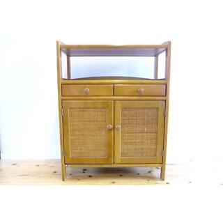 カリモクカグ(カリモク家具)のカリモク 木製キャビネット 飾り台・電話台(電話台/ファックス台)