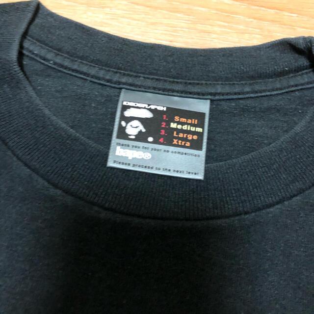 A BATHING APE(アベイシングエイプ)の中古品 old A BATHING APE ロゴ Tシャツ M メンズのトップス(Tシャツ/カットソー(半袖/袖なし))の商品写真