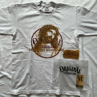 TENDERLOIN - 美品 テンダーロイン jc Tシャツ Mサイズ 付属品完備