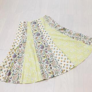 Lois CRAYON - ロイスクレヨン リバティ タナローン パッチワーク マーメイドスカート