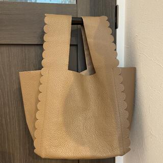 LUDLOW - LUDLOW スカラップトート scallaped shopping bag